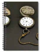 Pocket Watches Spiral Notebook