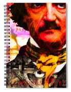Poe Industries Steampunk Machines Patent Pending 20140518 Square V3 Spiral Notebook