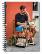 Poet For Hire Spiral Notebook