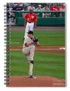 Jon Lester Poetry In Motion Spiral Notebook