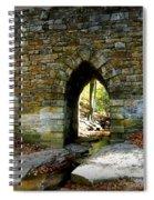 Poinsett Bridge Arch Spiral Notebook