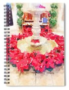 Poinsettias Spiral Notebook