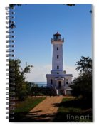 Point Abino Lighthouse Path Spiral Notebook