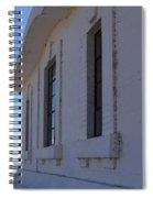 Point Abino Lighthouse Windows Spiral Notebook