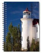 Point Betsie Lighthouse Michigan Spiral Notebook