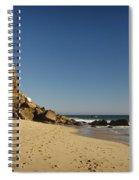 Point Dume At Zuma Beach Spiral Notebook