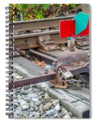 Point Indicator  7d07894 Spiral Notebook