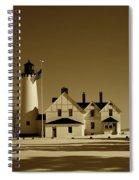 Point Iroquois Light Station Spiral Notebook