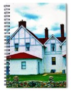 Point Iroquois Lighthouse Spiral Notebook