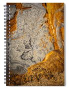Point Lobos Abstract 12 Spiral Notebook