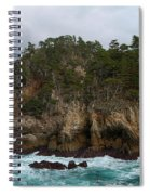 Point Lobos Coastal View Spiral Notebook