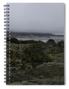 Point Lobos National Park Spiral Notebook