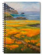 Point Lobos Poppies Spiral Notebook