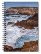 Point Lobos Surf Spiral Notebook