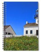 Point Loma Lighthouse By Diana Sainz Spiral Notebook