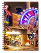 Point Mugu Tattoo Spiral Notebook