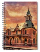 Point Of Rocks Train Station  Spiral Notebook