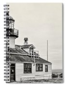 Point Pinos Lighthouse By Diana Sainz Spiral Notebook