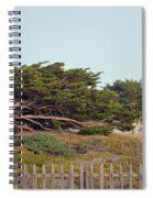 Point Pinos Lighthouse Pacific Grove California Spiral Notebook