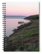 Point Reyes Sunset Spiral Notebook
