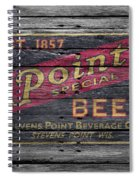 Point Special Beer Spiral Notebook