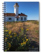 Point Wilson Lighthouse Spiral Notebook