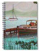 Pointe-a-pitre Martinique Across From Fort Du France Spiral Notebook