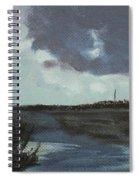 Pointe Aux Chein Blue Skies Spiral Notebook