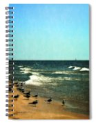 Pointed Into The Wind Spiral Notebook