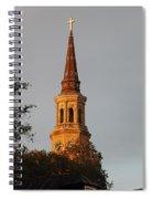 Pointing Upward Spiral Notebook