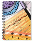 Points Lines And Circles Spiral Notebook