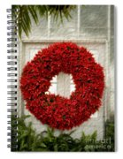 Pointsetter Christmas Reef Spiral Notebook