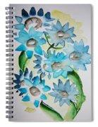 Pointy Petals Spiral Notebook