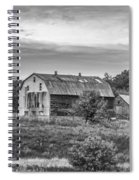 Pointy Top Silo   3d21759 Spiral Notebook