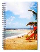 Poipu Beach Kauai Hawaii Spiral Notebook