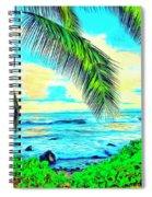 Poipu Sunrise Spiral Notebook