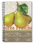 Poires Fraiches Spiral Notebook