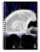 Polar And Snow Spiral Notebook