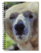 Polar Bear  Spiral Notebook