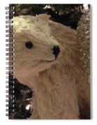 Polar Bear With Ornaments Spiral Notebook