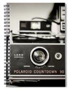 Polaroid Countdown 90 Spiral Notebook