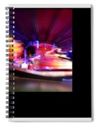 Polaroid Fire Spiral Notebook
