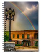 Police At The End Of The Rainbow Spiral Notebook