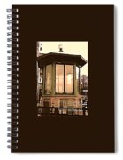 Police Booth Spiral Notebook