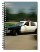 Police Car Spiral Notebook