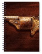 Police - Gun - Mr Fancy Pants Spiral Notebook