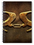 Police - Handcuffs Aren't Always A Bad Thing Spiral Notebook