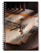 Police - The Wardens Keys Spiral Notebook