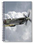 Polish Spitfire Ace Spiral Notebook