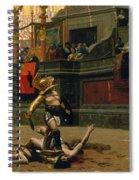 Pollice Verso Spiral Notebook